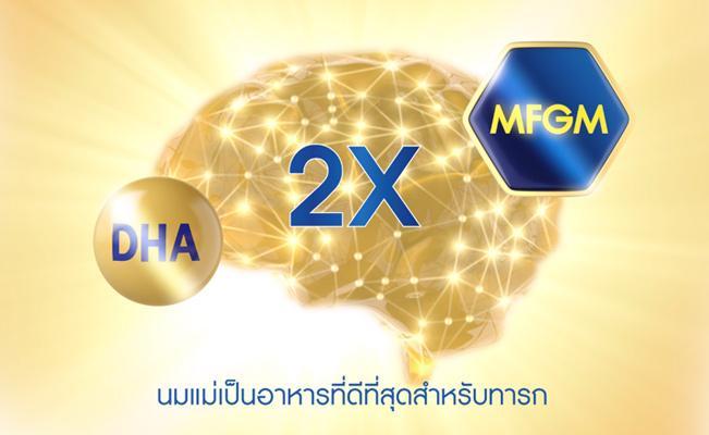 MFGM สารอาหาร เพื่อการเชื่อมต่อเซลล์สมอง